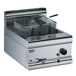 Lincat Silverlink 600 DF4 Single Tank Two Basket Tabletop Fryer - Image
