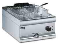 Lincat Silverlink 600 DF49 Single Tank Twin Basket Counter Fryer 9kW - Image
