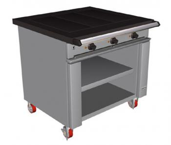 Falcon Chieftain E1026 Three Hotplate Boiling Table - Image