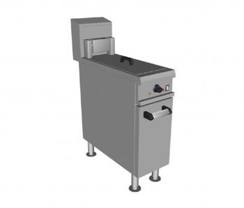 Falcon Chieftain E1808 Single Pan Fryer 19 litres (Heavy Duty) - Image