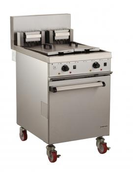 Falcon Chieftain E1848 Twin Pan Fryer 2 x 19 litres (Heavy Duty) - Image