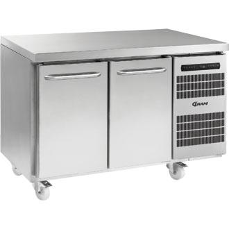 Gram F1407 Gastro 2 Door Freezer Counter -25 to -5 - Image
