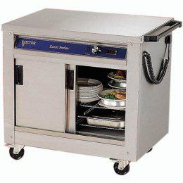 Victor Countess Junior HC21MS Plain Top Hotcupboard - Image