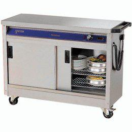 Victor Countess HC31MS Mobile Plain Top Hotcupboard - Image