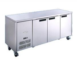 Williams HJC3 Three Door Counter Fridge +1 to +4 - Image