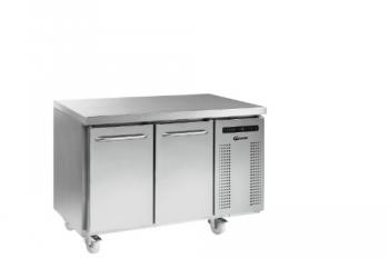 Gram K1407 Gastro 2 Door Fridge Counter +2 to +12 - Image