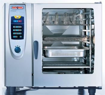 RATIONAL SCC102E Self Cooking Center 102 Electric 10 Grid Combi - Image