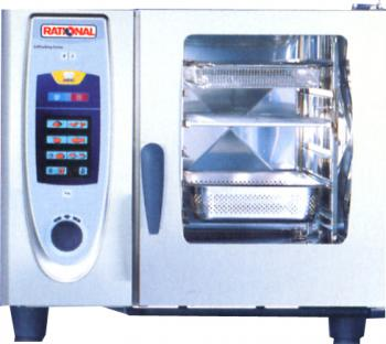 RATIONAL SCC61G Self Cooking Center 61 Gas 6 Grid Combi - Image