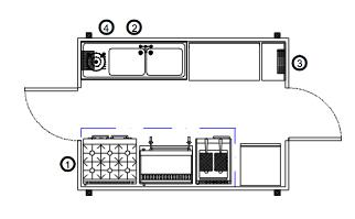Small Production Kitchen 3.8m - Image