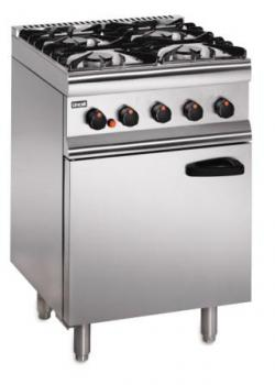 Lincat Silverlink 600 SLR6 Medium Duty Four Burner Oven Range - Image